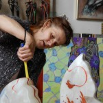 Makó Judit műterme