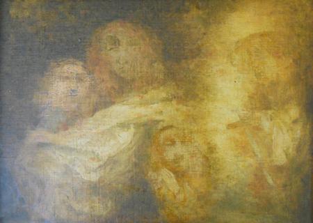 Kárpáti Tamás-Zsuzsanna Rubens köpenyben, egy angyal és a vének 1994