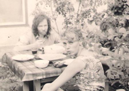 Nyári vasárnap délután Kárpáti Tamáséknél a '90-es évek elején
