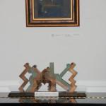 Barcsay Jenő festménye és Lukács Tibor szobra